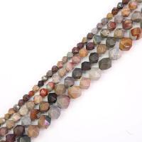 Bild Jaspis Perlen, DIY & verschiedene Größen vorhanden, braun, Bohrung:ca. 1mm, verkauft von Strang