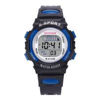 honhx® Uhrenkollektion, Kunststoff, mit PU-Gummi & organisches Glas & Edelstahl, plattiert, für Kinder & glänzend, keine, 37mm, Länge:ca. 9.1 ZollInch, verkauft von PC