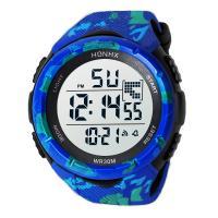 honhx® Uhrenkollektion, Harz, mit PU-Gummi & organisches Glas & Edelstahl, plattiert, für den Menschen & glänzend, keine, 50mm, Länge:ca. 9 ZollInch, verkauft von PC