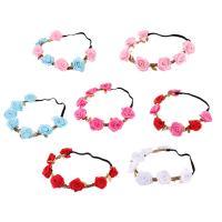 Stirnband, Stoff, Blume, für Frau, keine, Länge:ca. 15 ZollInch, verkauft von PC