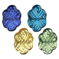 Handgewickelte Perlen, Lampwork, keine, 17.50x27x7mm, Bohrung:ca. 2mm, 10PCs/setzen, verkauft von setzen