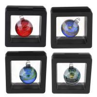 Mode Lampwork Anhänger, Mit Verpackungskasten & verschiedene Stile für Wahl, keine, 21x28x20mm, Bohrung:ca. 3.5mm, verkauft von PC