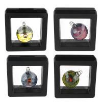 Mode Lampwork Anhänger, Mit Verpackungskasten & verschiedene Stile für Wahl, keine, 23x29.50x22.50mm, Bohrung:ca. 4mm, verkauft von PC