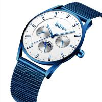 BIDEN® Uhrenkollektion, Edelstahl, mit organisches Glas, plattiert, für den Menschen, keine, 40mm, Länge:ca. 8.6 ZollInch, verkauft von PC