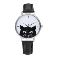 GAIETY® Unisex Schmuck Uhren, PU Leder, mit Glas & Zinklegierung, plattiert, für Frau, keine, 38mm, Länge:ca. 9.4 ZollInch, verkauft von PC