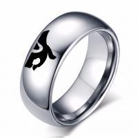 Edelstahl Paar- Ring, plattiert, verschiedene Größen vorhanden, keine, 6mm, verkauft von PC