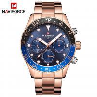 NAVIFORCE® Uhrenkollektion, Edelstahl, mit Glas & Zinklegierung, plattiert, für den Menschen, keine, 44mm, Länge:ca. 9.6 ZollInch, verkauft von PC