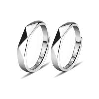 Sterling Silber Schmuck Fingerring, 925 Sterling Silber, platiniert, unisex & verschiedene Stile für Wahl, verkauft von PC