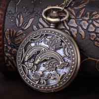 Zinklegierung Halskette Uhr, unisex, frei von Blei & Kadmium, 47x16mm, verkauft per ca. 1.35 Strang