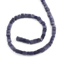 Cats Eye Perlen Schmuck, Katzenauge, Quadrat, 6x6mm, Bohrung:ca. 1mm, Länge:ca. 15.3 ZollInch, 10SträngeStrang/Tasche, ca. 65PCs/Strang, verkauft von Tasche