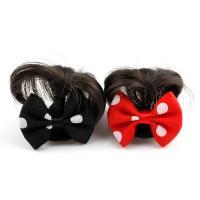 Haarklammer, Kunststoff, mit Künstliche Faser & Stoff, für Frau, keine, 42x37x12mm, verkauft von PC