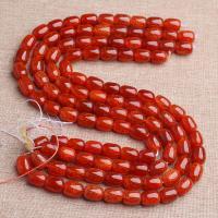 Drachenvenen Achat Perle, poliert, verschiedene Größen vorhanden, Bohrung:ca. 1mm, verkauft von Strang
