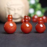 Roter Achat Perle, poliert, verschiedene Größen vorhanden, Bohrung:ca. 1mm, 2PCs/setzen, verkauft von setzen
