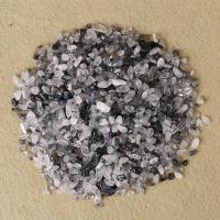 Schwarzer Rutilquarz Cabochon, poliert, verschiedene Größen vorhanden, verkauft von kg