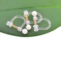 Harz mit ABS-Kunststoff-Perlen, Koreanischen Stil, keine, 3x0.67mm,6x0.67mm, 100PCs/Tasche, verkauft von Tasche
