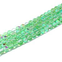 Perle, poliert, DIY & verschiedene Größen vorhanden, grün, verkauft per ca. 15 ZollInch Strang