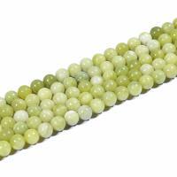 Südliche Jade Perle, rund, natürlich, DIY & verschiedene Größen vorhanden, grün, 2MM, verkauft per ca. 15 ZollInch Strang