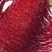 Natürlicher Quarz Perlen Schmuck, poliert, DIY & verschiedene Größen vorhanden, rot, verkauft per ca. 16 ZollInch Strang