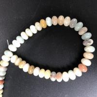 Amazonit Perlen, poliert, DIY & verschiedene Größen vorhanden, farbenfroh, verkauft per ca. 15 ZollInch Strang