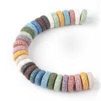 Natürliche Lava Perlen, DIY & verschiedene Größen vorhanden, keine, verkauft per ca. 15 ZollInch Strang