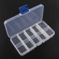 Multifunktionale Schmuck-Box, Acryl, Rechteck, wasserdicht, klar, 129x62x22mm, verkauft von PC