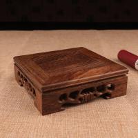 Holz Kaffeefarbe, 120x120x40mm, verkauft von PC