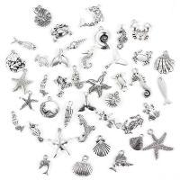 Zink-Legierungs-Armband-Entdeckungen, Zinklegierung, antik silberfarben plattiert, frei von Nickel, Blei & Kadmium, 20mm, 40PCs/Tasche, verkauft von Tasche