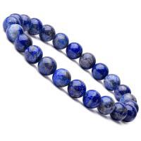 Natürliche Lapislazuli Armband, mit elastischer Faden, rund, unisex, blau, 8mm, Länge:ca. 6.9 ZollInch, 10SträngeStrang/Menge, verkauft von Menge