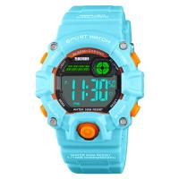 SKmei® Kinderuhr, ABS Kunststoff, mit PU Leder & Edelstahl, für Kinder & wasserdicht, keine, 37x43mm, verkauft von PC