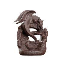 Porcelain Backflow Incense Burner, Porzellan, braun, 170x70x125mm, verkauft von PC
