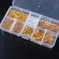 Zinklegierung plattiert, DIY & verschiedene Stile für Wahl, keine, 125x62x20mm, verkauft von Box