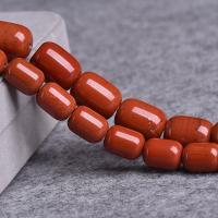 Zhanguo rot Achat Perle, poliert, DIY & verschiedene Größen vorhanden, rot, verkauft per ca. 15 ZollInch Strang