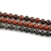 Regen Blumen Stein Perlen, rund, verschiedene Größen vorhanden, keine, 8mm, verkauft von Strang