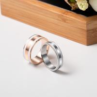 Titanstahl Paar- Ring, plattiert, verschiedene Größen vorhanden, keine, verkauft von PC