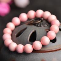 Rosa Muschel Armband, rund, verschiedene Stile für Wahl & für Frau, Rosa, verkauft von Strang