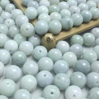 Jadeit Perlen, rund, poliert, natürliche & DIY, 12.5-13mm, Bohrung:ca. 1.2mm, 150PCs/Menge, verkauft von Menge