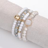 Glasperlen Armband, mit Lampwork, für Frau, keine, frei von Nickel, Blei & Kadmium, 100x20x100mm, verkauft von setzen