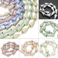 ABS Kunststoff Großes Loch Perlen, keine, 29x19mm, Bohrung:ca. 3mm, ca. 200PCs/Tasche, verkauft von Tasche