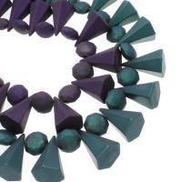ABS Kunststoff Großes Loch Perlen, keine, 23x35mm, Bohrung:ca. 3mm, 100PC/Tasche, verkauft von Tasche