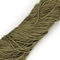 Messing Kette, antike Bronzefarbe plattiert, Kastenkette, frei von Nickel, Blei & Kadmium, 2mm, 100m/Strang, verkauft von Strang