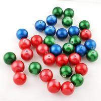 Gemischte Acrylperlen, Acryl, 16x16x15mm, Bohrung:ca. 3mm, 230PC/Tasche, verkauft von Tasche