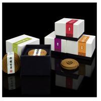 Weihrauch, Sandelholz, rund, Halbhandgefertigt, gelb, Diameter4.5cm, 20BoxenFeld/setzen, 2PCs/Box, verkauft von setzen