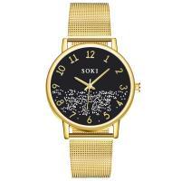 Damen Armbanduhr, Zinklegierung, mit Glas, plattiert, für Frau, keine, 240x20mm, verkauft von PC