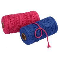 Sewing Thread, Baumwolle, Multifunktions & DIY, keine, frei von Nickel, Blei & Kadmium, 3mm, 100m/Spule, verkauft von Spule