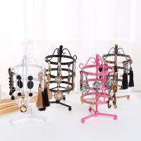 Eisen Ohrringständer, plattiert, drehbare & abnehmbare & für Frau & hohl, keine, 180x290mm, verkauft von PC
