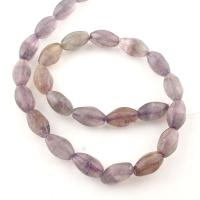 Natürliche Amethyst Perlen, hellviolett, 15x9mm, ca. 24PCs/Strang, 10StrangStrang/Tasche, verkauft per 15 ZollInch Strang