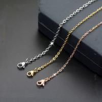 Titanstahl Halskette, verschiedene Größen vorhanden & für Frau, keine, verkauft von Strang