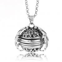 Mode Medaillon Halskette, Zinklegierung, plattiert, unisex, keine, 130mm, verkauft per ca. 27 ZollInch Strang