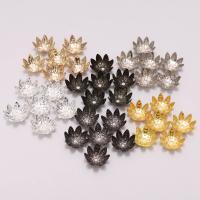 Zinklegierung Perlenkappe, plattiert, DIY & verschiedene Größen vorhanden, keine, 100PCs/Tasche, verkauft von Tasche