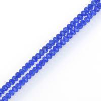 Malaysia Jade Perle, blau, frei von Nickel, Blei & Kadmium, 2x2.50x2.50mm, Länge:ca. 15 ZollInch, 5SträngeStrang/Menge, ca. 212PCs/Strang, verkauft von Menge